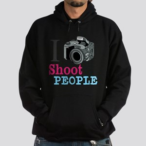 I Shoot People Hoodie (dark)